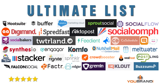 Ultimate List of All in One Social Media Tools