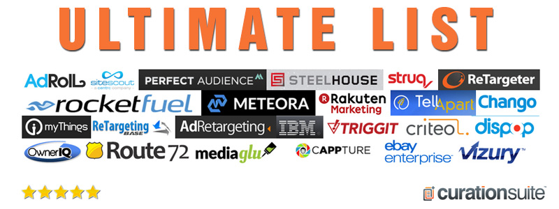 Ultimate List of Retargeting Solutions